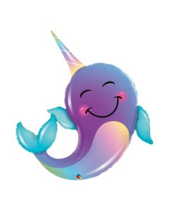 Narwhal Party Mylar Balloon