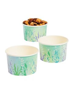 Narwhal Party Paper Snack Cup