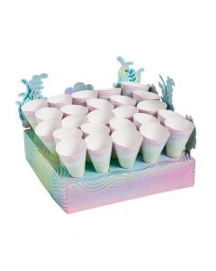 Narwhal Treat Stand with Cones