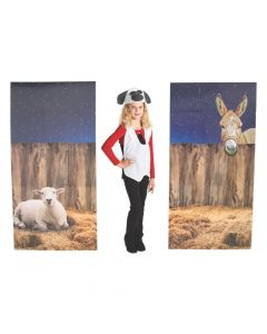 Nativity Pageant Backdrop Panel Cardboard Stand-Ups