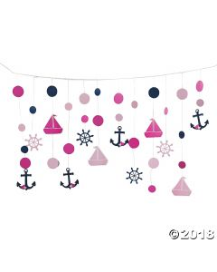 Nautical Girl Hanging Decoration