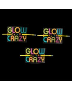 Neon Glow Party Bracelets on Cards