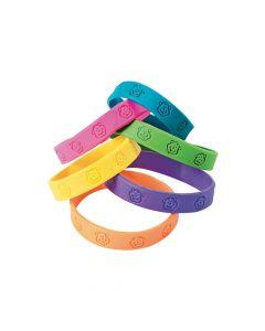 Neon Monkey Rubber Bracelets