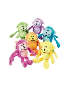 Neon Stuffed Monkeys
