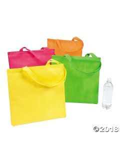 Neon Tote Bags