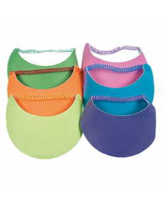 Kids Neon Visors with Coil Band