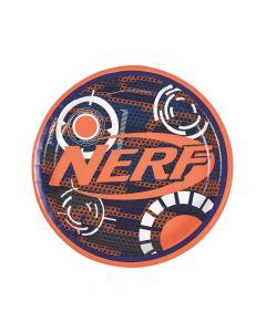 Nerf Round Paper Dinner Plates