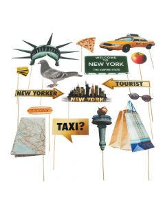 New York Photo Stick Props