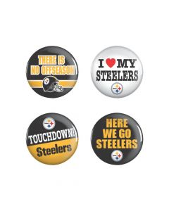 NFL Pittsburgh Steelers Buttons