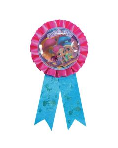 Nickelodeon Shimmer and Shine Confetti Award Ribbon