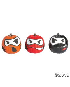 Ninja Pumpkin Decorating Craft Kit