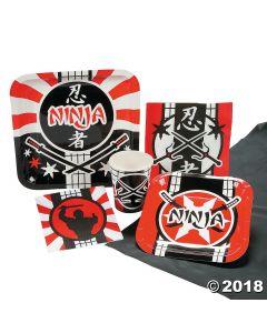 Ninja Warrior Party Pack