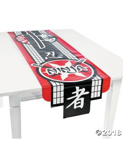 Ninja Warrior Table Runner