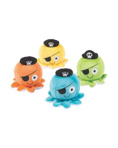 Octopus Pirate Stuffed Animals