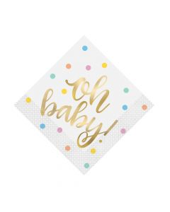 Oh Baby Luncheon Napkins