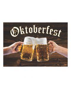 Oktoberfest Beer Backdrop