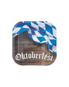 Oktoberfest Paper Dessert Plates