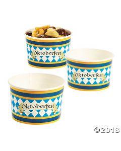 Oktoberfest Snack Paper Bowls