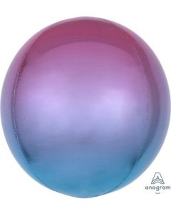 Ombre Purple & Blue Orb Balloon