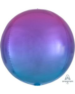 Ombre Pink & Blue Orb Balloon