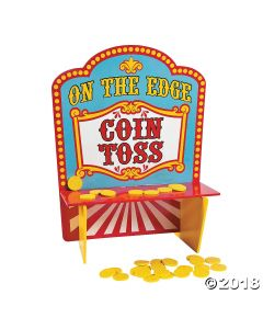 On the Edge Carnival Coin Toss Game