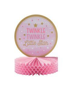 One Little Star Baby Shower Centerpiece - Girl