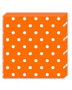 Orange Dots Lunch Napkin