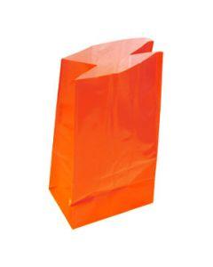 Orange Paper Party Bags