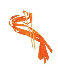Orange Ribbon Wands