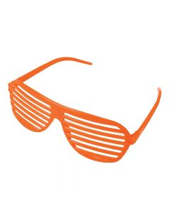 Orange Shutter Sunglasses