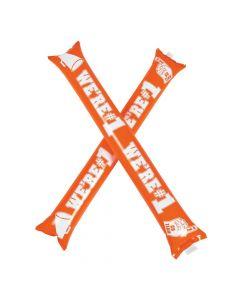 Orange Team Spirit Boom Sticks