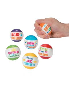 Paint Chip Motivational Stress Balls