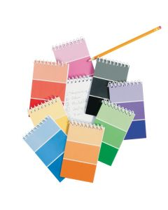 Paint Chip Spiral Notepads