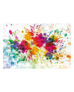 Paint Splattered Backdrop