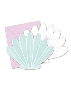 Party under the Sea die Cut Invitations & Envelopes