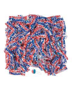 Patriotic Saf-t-pops lollipops