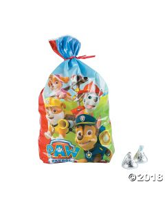 Paw Patrol Cellophane Bags