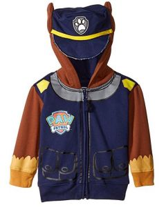Paw Patrol Chase Hoodie with Ears Age 4