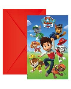 Paw Patrol Ready for Action Invites
