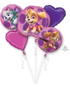 Paw Patrol Skye & Everest Foil Balloon Bouquet