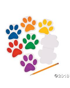 Paw Print Notepads