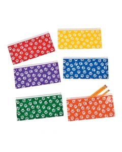 Paw Print Pencil Cases