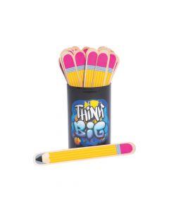 Pencil Flip Name Sticks