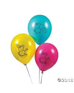 Peppa Pig Latex Balloons