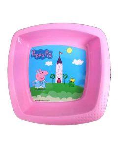 Peppa Pig Square Shaped Bowl
