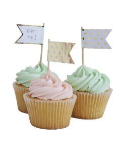 Pick & Mix Polka Dot Cup Cake Sticks