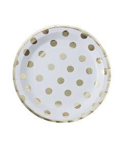 Pick & Mix Polka Dot Paper Plate