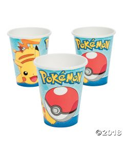 Pikachu & Friends Paper Cups