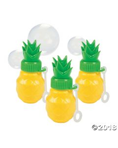 Pineapple Bubble Bottles