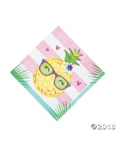 Pineapple 'n Friends Lunch Napkins